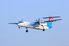 Luxair acepilla fotografía de archivo