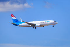 Luxair Boeing 737 Stock Photo
