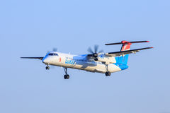 Luxair plane Stock Photography