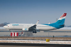 Luxair Royalty Free Stock Photo