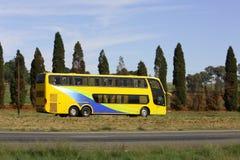 luxary的公共汽车 库存图片