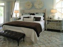 Luxe 4 - Chambre à coucher 1 Photographie stock libre de droits