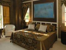 Luxe 9 - Chambre à coucher 1 Photo libre de droits