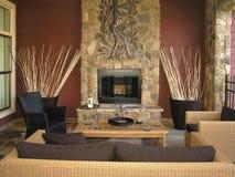 Luxe 9 - Salle de séjour 1 Photos libres de droits