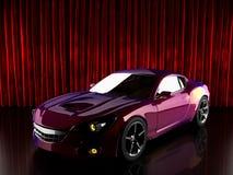 Luxe brandless sportwagen Stock Foto