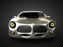 Luxe brandless sportwagen Stock Afbeelding