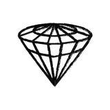 Luxe de diamant jewerly Photos stock