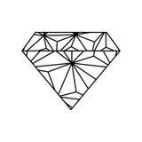 Luxe de diamant jewerly Photos libres de droits