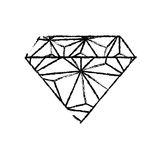 Luxe de diamant jewerly Photographie stock libre de droits