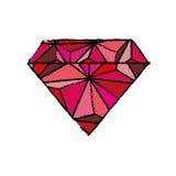 Luxe de diamant jewerly Photo stock