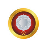 Luxe de diamant jewerly Image stock