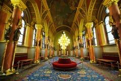 luxe de hall photos stock