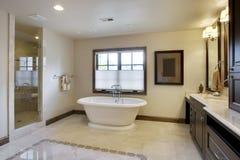 luxe de salle de bains Photo stock
