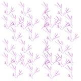 Luxe exotische bladeren -- pinks royalty-vrije illustratie