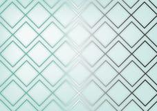 Luxe geometrische lichtblauwe achtergrond royalty-vrije stock afbeelding