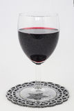 Luxe glas of red wine Royalty Free Stock Images
