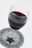 Luxe glas of red wine Royalty Free Stock Photography
