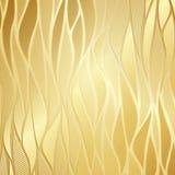 Luxe gouden bloemenbehang Royalty-vrije Stock Foto