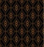 Luxe gouden koninklijke textuur Stock Afbeeldingen