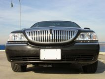 Luxe Lincoln Limo Royalty-vrije Stock Afbeeldingen