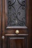 Luxe oude deur Stock Afbeelding