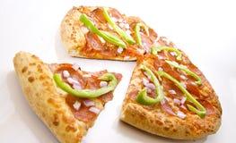 Luxe Pepperonis en Plantaardige Pizza royalty-vrije stock foto