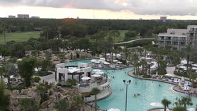 Luxe resord in Orlando, FL stock video