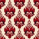 Luxe royal de fleur de damassé  Images libres de droits