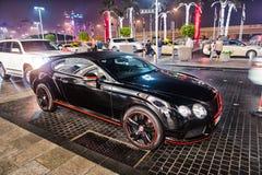 Luxe Supercar continentaal Bentley stock afbeelding