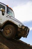 Luxe SUV Royalty-vrije Stock Foto's