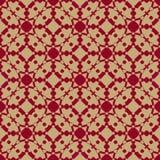 Luxe vector sier naadloos patroon in Aziatische stijl Feestelijke geometrische achtergrond vector illustratie