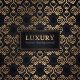 Luxe vectorpatroon Royalty-vrije Stock Foto
