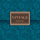 Luxe vintage  card Stock Photo