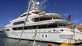 Luxe yacht de Arkivbild
