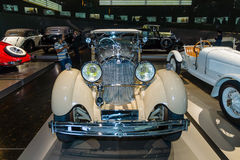 Luxeauto Mercedes-Benz Typ SS (Super Sport), 1930 Stock Afbeelding