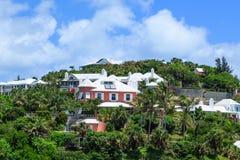 Luxehuis op de Bermudas Stock Fotografie
