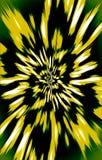 Luxeillustratie Grote Gele Bloem stock illustratie