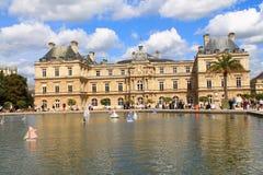 Luxembour slott i Paris Arkivfoto