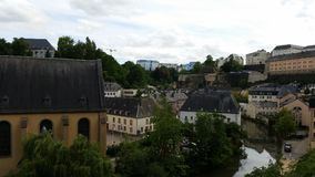 luxembourg immagine stock