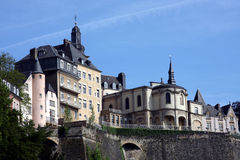 Luxembourg. Skyline of old town Stock Photo