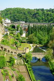 Luxembourg. Spring time in Luxembourg City royalty free stock images