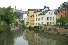 Luxembourg. Partial view of the old city royalty free stock image