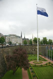 Luxembourg. Partial view of the city centre royalty free stock images
