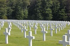 Luxembourg American Cemetery  Stock Images