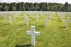 Luxembourg American Cemetery  Royalty Free Stock Photos