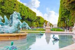 Luxembourg arbeta i trädgården Royaltyfria Foton