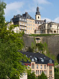 Luxembourg architecture Royalty Free Stock Photo