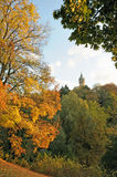 Luxembourg in autumn Royalty Free Stock Photos