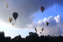 The Luxembourg Balloon Trophy Stock Image