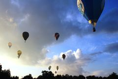 The Luxembourg Balloon Trophy Stock Photo